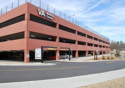 VA Parking Garage