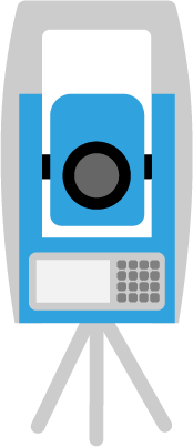 Survey Equipment Vector
